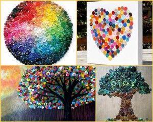 Creative Button Ideas  Figure Ideas