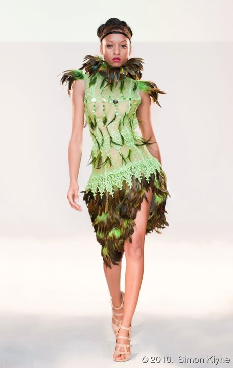 Designer Marital Tapolo ~ Green and loving it! # ...