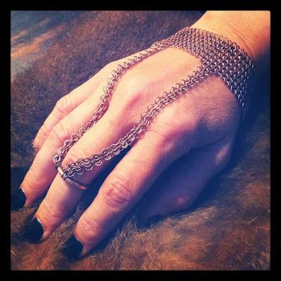 LuvAJ cuff ring