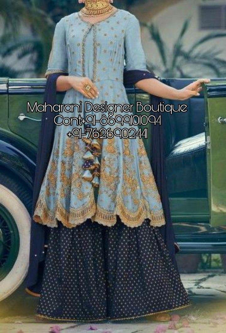 Plazo Suit Neck Design Latest Maharani Designer Boutique In 2020