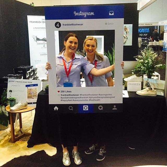 The QLD Podiatry Conference is here! If you're heading along come say hi to the FRANKiE4 Team! Try on some shoes and make sure you ask about our exciting offers! #qldfeet #frankie4footwear #podiatristdesignedfrankie4