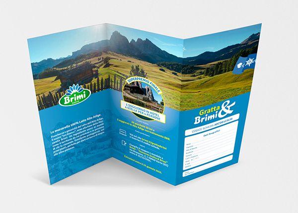 """Brimi, Centro Latte di Bressanone, produttore dell'unica mozzarella con latte 100% Alto Adige: campagna promozionale in doppia lingua per la In Store Promotion legata al concorso """"GrattaBrimi"""". FOLDER CONCORSO. #Brimi #madeinmilk #advertising #adv #POPAdvertising #Point-of-Purchase #POPDisplays #POPmarketing https://www.behance.net/gallery/18066879/Milk-adv-progetta-il-concorso-in-store-di-Brimi"""