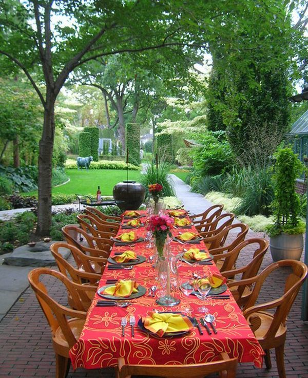 Attractive 15 Outdoor Dining Design Ideas For A Summer Experience Design Ideas