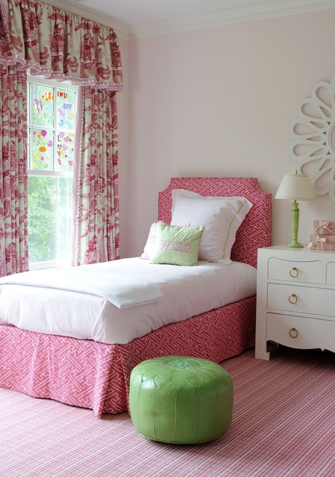 Pink Little Girls Bedroom