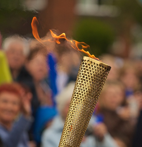Olympic Torch - Aylesbury