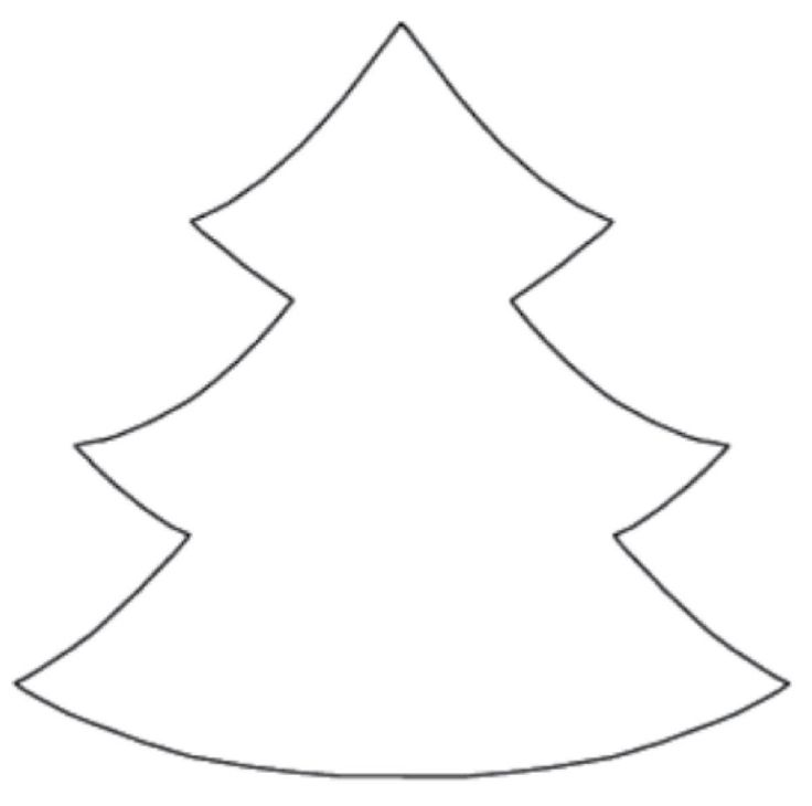 Christmas tree cut out template on fabric and cut out the christmas tree cut out template on fabric and cut out the pieces youll need 4 pieces for each tree graphics pinterest christmas christmas maxwellsz