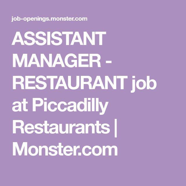 The  Best Restaurant Jobs Ideas On   Thanks In Dutch