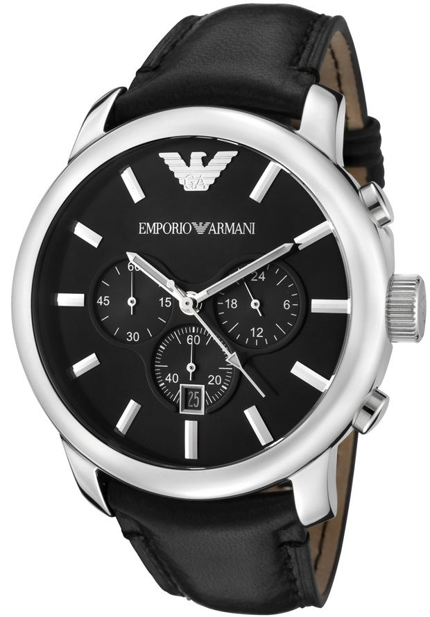Price:$179.40 #watches Emporio Armani AR0431, Effortlessly matching any suit, this classy Emporio Armani with its cool, bold design, will elegantly go with anyone's style