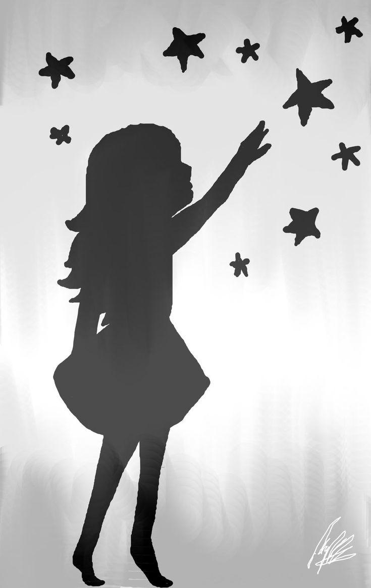 Звезды картинки силуэты