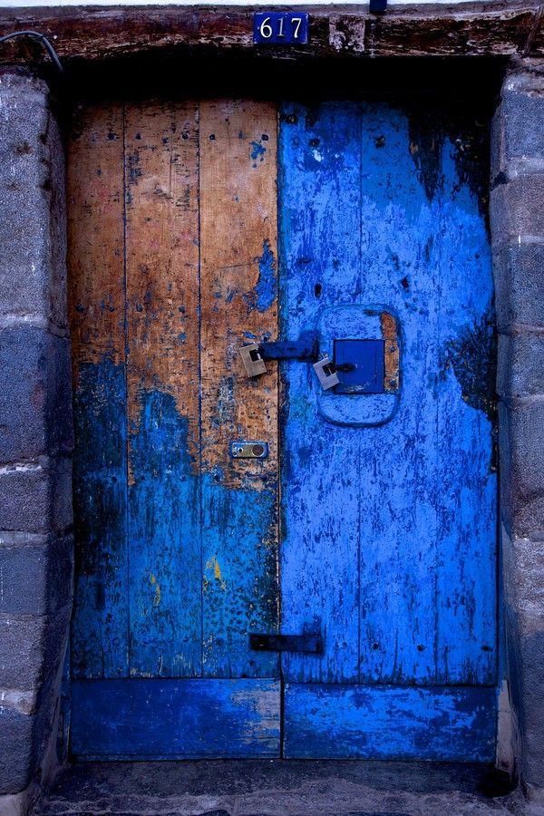 Superbe bleu qui a résisté au passage du temps