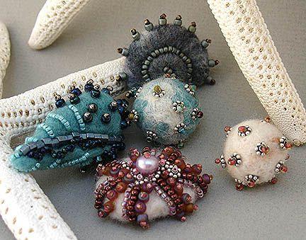 felt beads | Flickr - Photo Sharing!