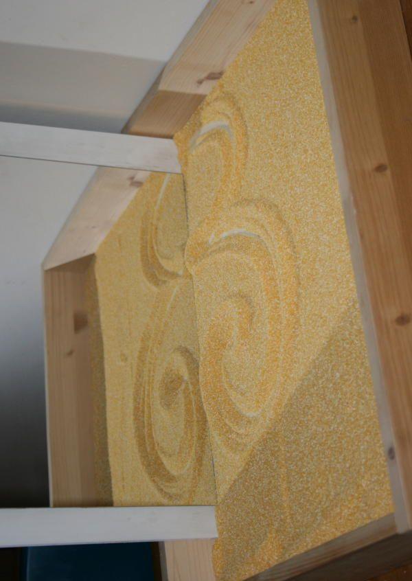 Lavagna di sabbia Montessori - Apprendimento della scrittura 4