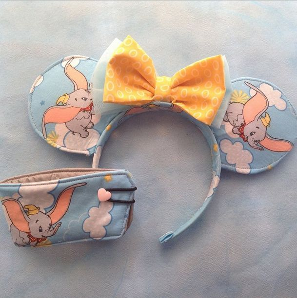Unique Disney Ears That Open Up a Whole New World of Vacation Ideas - Dumbo Disney Mouse Ears