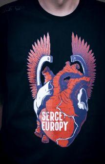 "Koszulka ""Serce Europy"". #SerceEuropy #NormanDavies #koszulka #patriotyzm #Polska #gadzet"