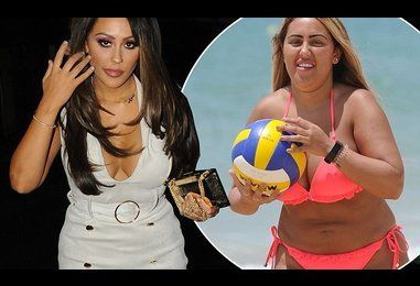 Geordie Shore's Sophie Kasaei unveils dramatic weight loss at MMA