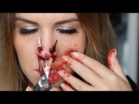 maquillage halloween emmy