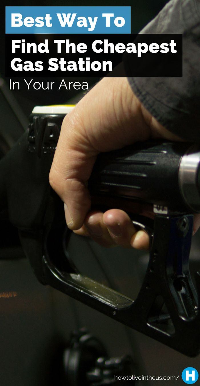 Wouldn't it be awesome to instantly know where the cheapest gas station is in your area? Well now you can! www.howtoliveintheus.com