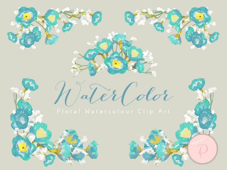 WCA81-blue-baby-breath-flower-clipart-watercolor