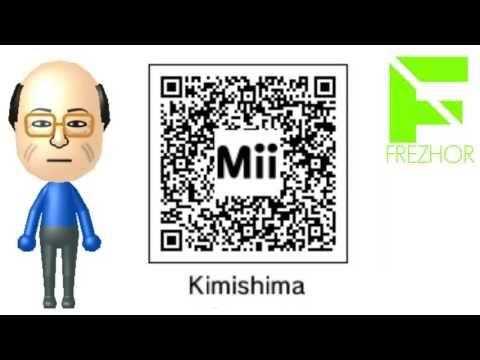 Mii Maker - Tatsumi Kimishima (ZEDD) Mii Free giveaway QR Code Nintendo ...