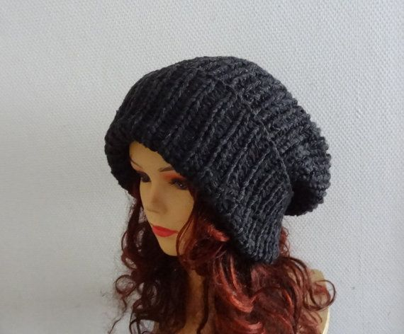 Super Slouchy Beanie Big Slouchy Baggy Hat Winter Adult by Ifonka