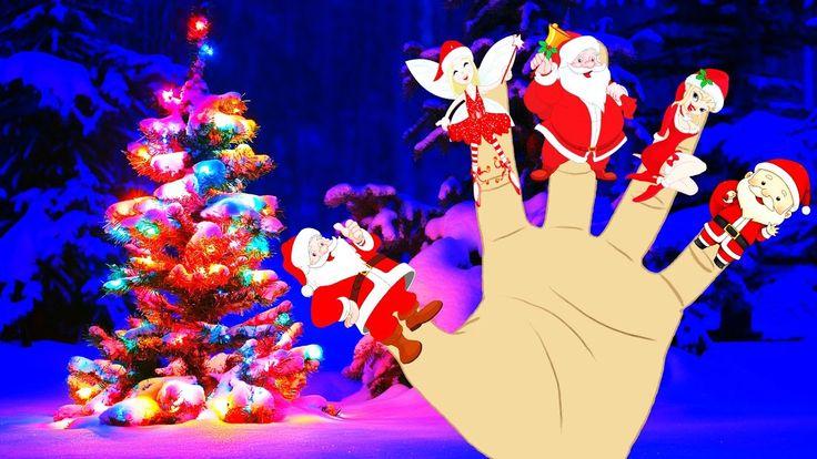 Finger Family Santa Claus | Nursery rhymes | Kids songs | Baby rhymes