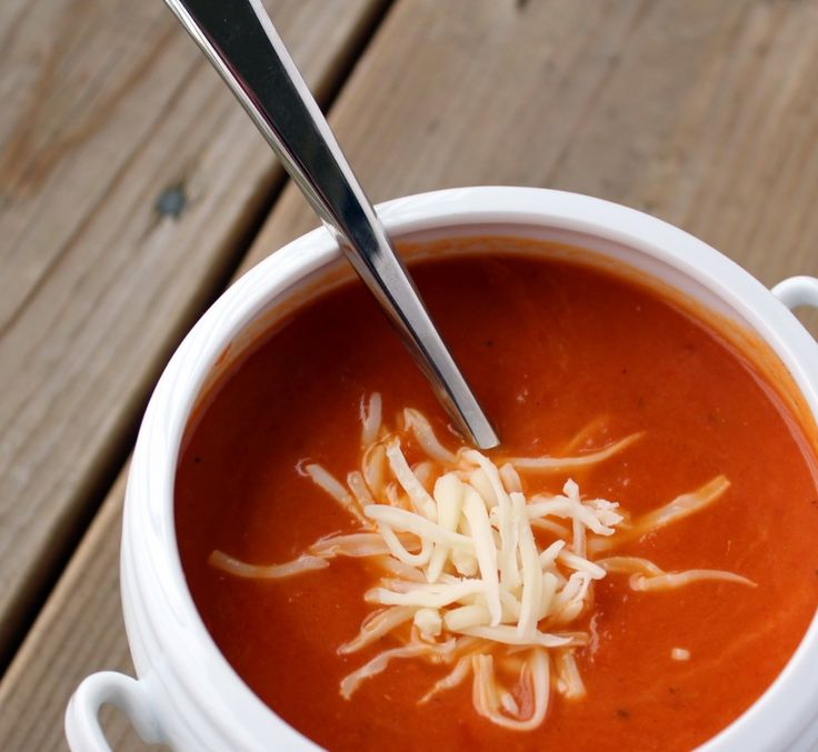 smoky roasted tomato soup -- looks like it would be great at the end ...