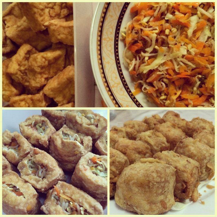 Tahu isi super crispy Ala Fathin, yummy!
