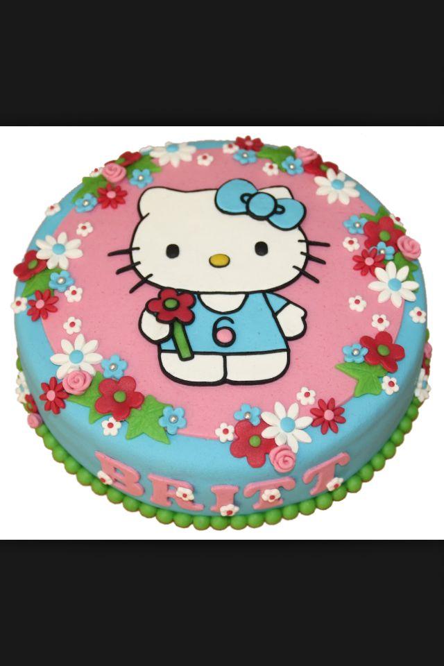#Hello #Kitty #Kindertaart