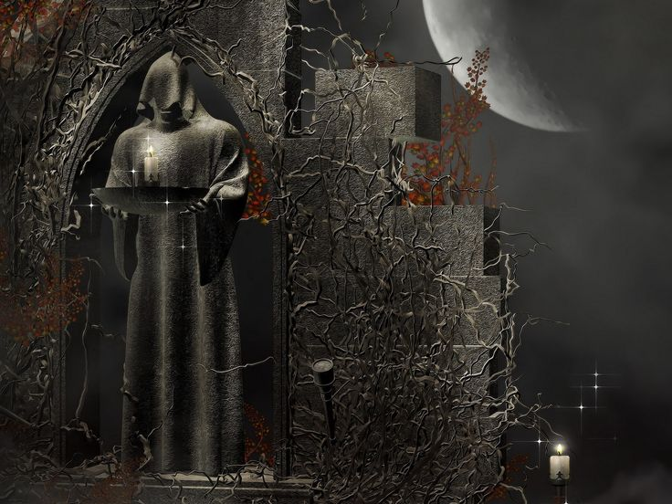 49 besten dark gothic art bilder auf pinterest landschaften tapeten und fantasie - Gothic hintergrundbilder ...