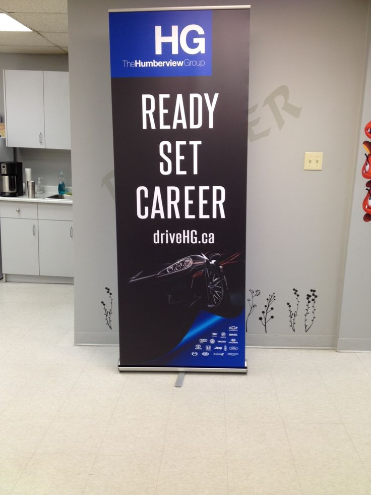 This gorgeous rush order job was in and out of the shop in 24 hours! #banner #bannerstand #marketing #tradeshowdisplay #etobicoke