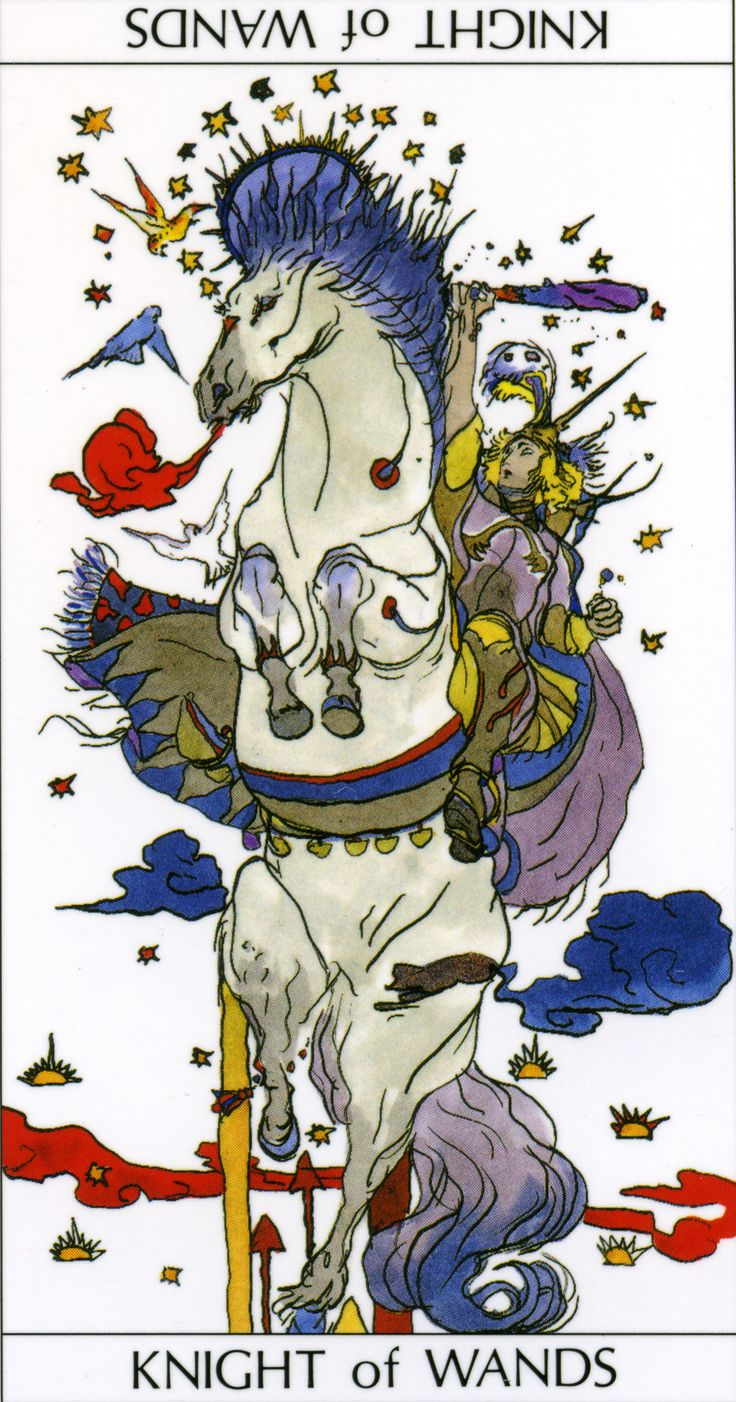 knight of wands relationship