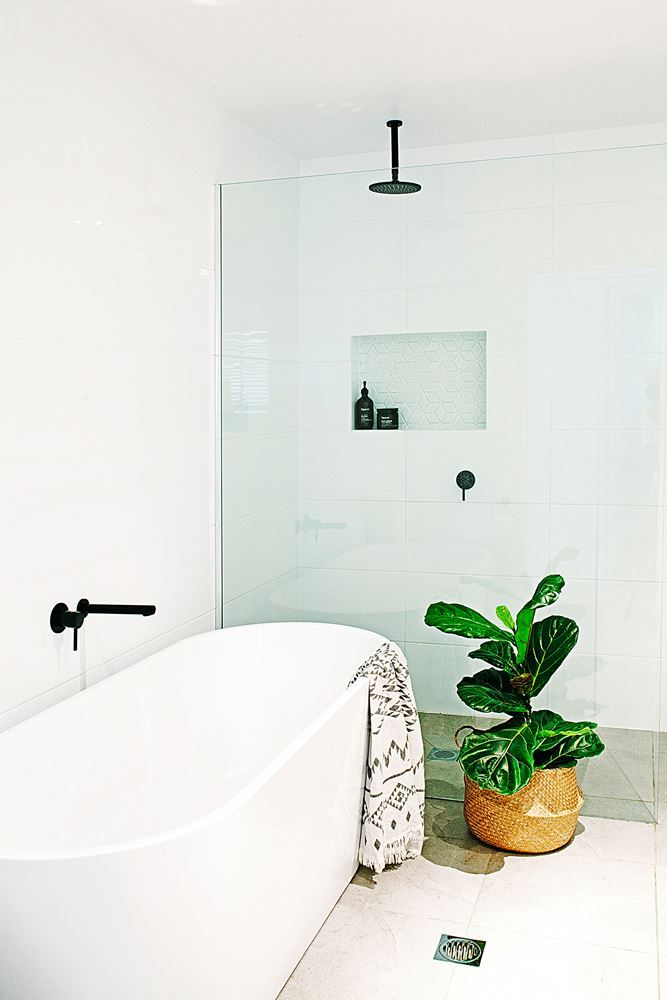 """Contemporary black accessories, from [North Coast Plumbing](http://www.ncpbathroomcentres.com.au/?utm_campaign=supplier/
