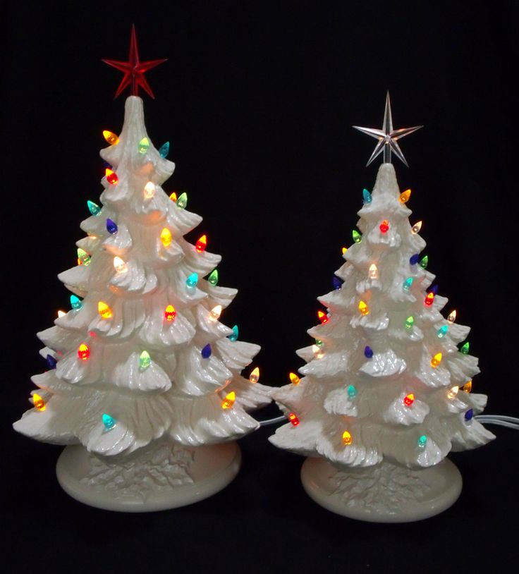 79 best CERAMIC TREES images on Pinterest | Ceramic christmas ...
