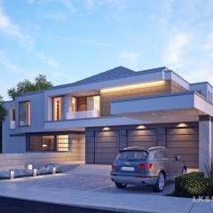 Traumhaus: moderne Häuser von LK&Projekt GmbH
