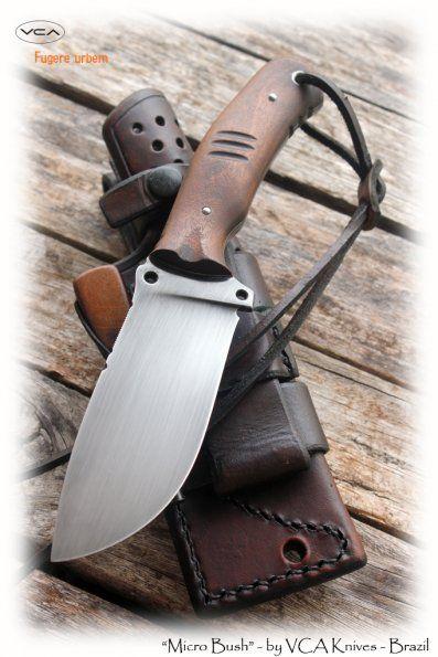 Micro bush | VCA Knives Portfolio | VCA Custom Knives