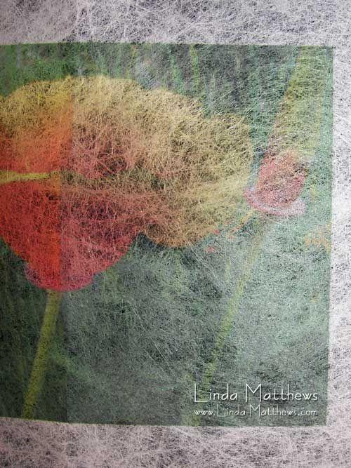 Printing on Lutradur using Inkaid and Digital Grounds