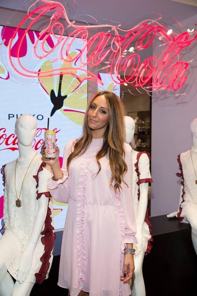 Elisa Taviti at PINKO and Coca-Cola light #GlamTaste event