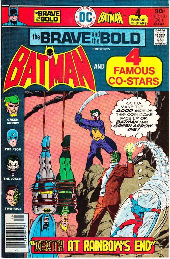 Joker Green Arrow Batman Atom Two Face Comic Brave And The