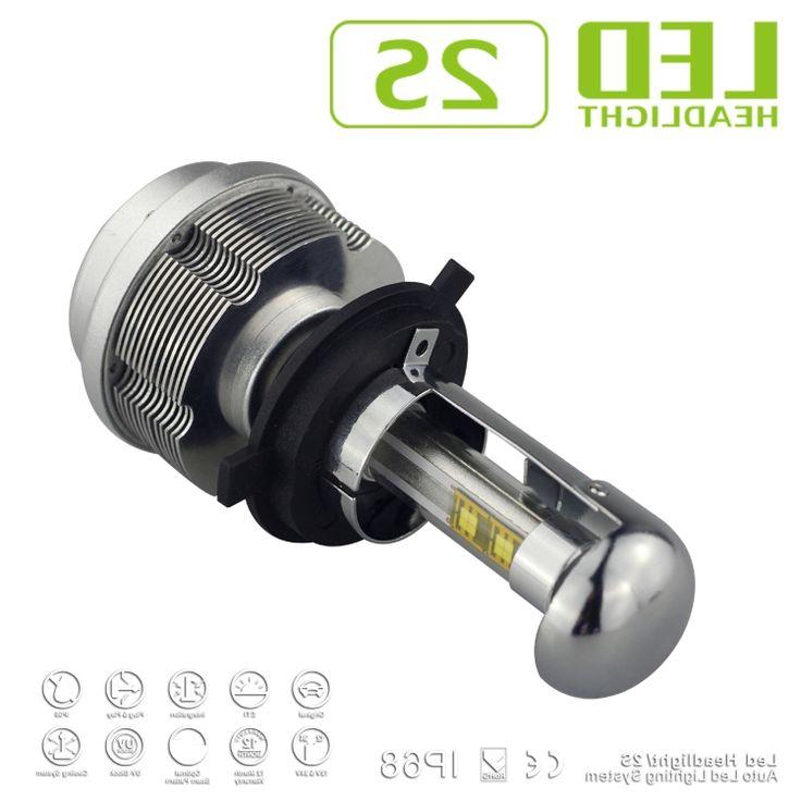 64.60$ (Buy here - https://alitems.com/g/1e8d114494b01f4c715516525dc3e8/?i=5&ulp=https%3A%2F%2Fwww.aliexpress.com%2Fitem%2F2X-30W-3600LM-Gen-2S-car-H4-LED-Headlight-CREE-ETI-Chips-bixenon-H4-kit-12%2F32318157181.html) 2016 2X 30W 3600LM Gen 2S car H4 LED Headlight CREE ETI Chips bixenon H4 kit 12-24V Car Headlight all in one LED conversion Kits