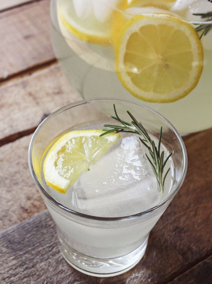 Rosemary Lemonade - A BEAUTIFUL MESS