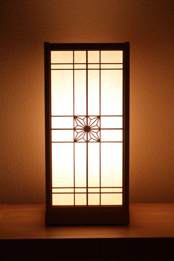 Japanese Shoji Lamp - Asa no ha
