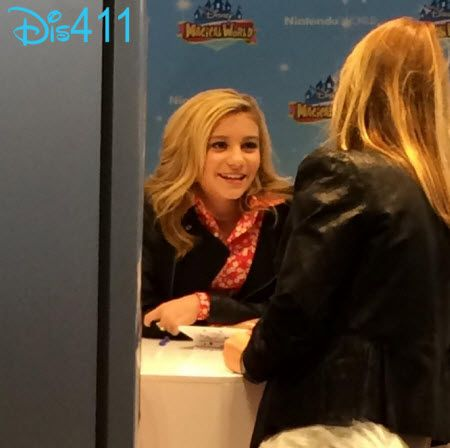 Photos: G Hannelius At The Nintendo Store In New York City April 12, 2014