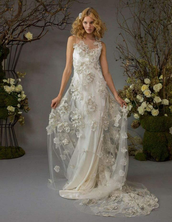 Sexy and Romantic Elizabeth Fillmore Wedding Dresses