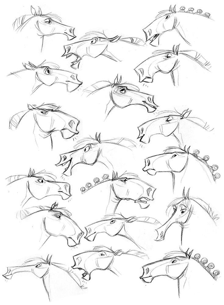 #modelsheet #horse
