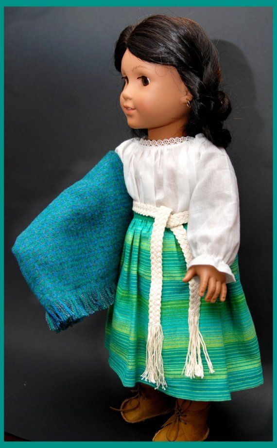american girl josefina outfit top skirt y sash by dollhouse designs american girl dolls. Black Bedroom Furniture Sets. Home Design Ideas