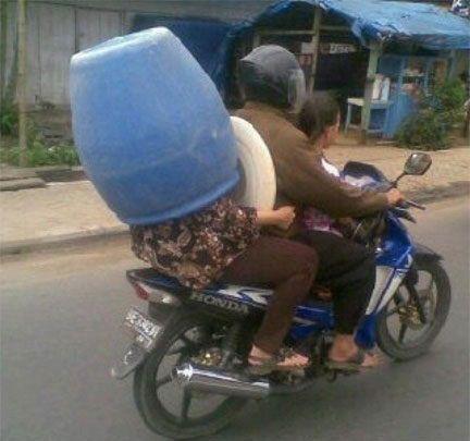 Helmets are too mainstream