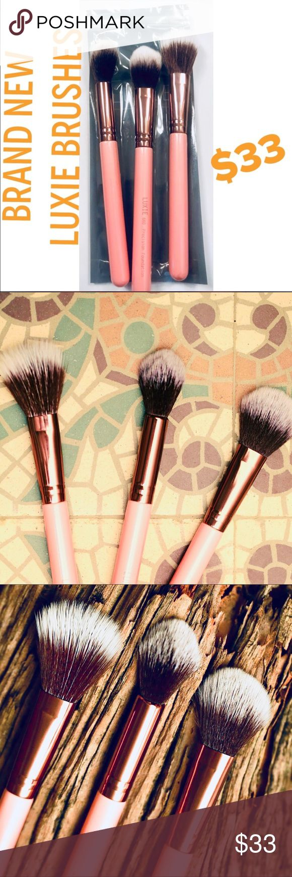 LUXIE Cosmetic Brushes Original Price 75 NWT