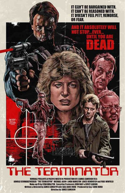 """The Terminator"" / movie poster artwork"