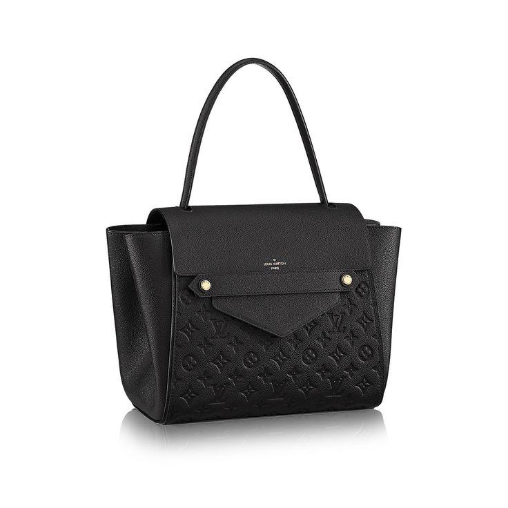 Not normally a Louis Vuitton fan but this is pretty gorgeous.... Louis Vuitton Trocadero via Louis Vuitton