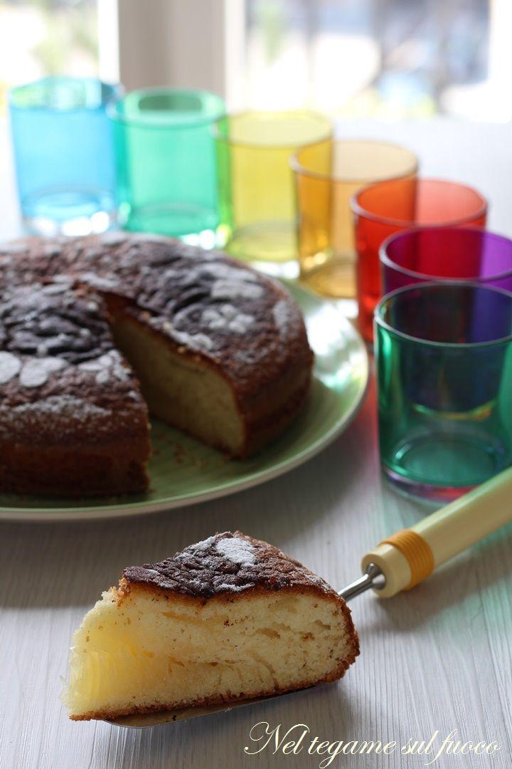 senza lattosio e senza bilancia e non vi occorrerà neppure il vasetto!  #comfortfood  #torta